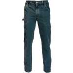 Jeans SiGGi WORKWEAR Mech cotone, poliestere, elastan taglia xl blu