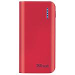 Caricabatterie portatile Trust Primo 4400 rosso tutti gli smartphone, per ipad e tablet samsung galaxy