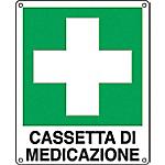 Cartelli Segnalatori Cassetta di medicazione 12 x 14,5 cm
