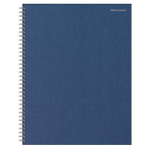 Blocco spiralato Office Depot Blu navy A quadretti microperforazione A4+ 23 (l) x 29,7 (h) cm 70 g