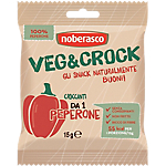 Chips di verdure noberasco VEG & CROCK Peperoni