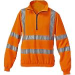 Felpa SiGGi WORKWEAR Alta visibilità Poliestere 100% taglia 2xl Arancione