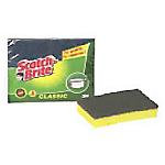 Spugne antibatteriche Scotch Brite 10 x 2,4 x 7 cm giallo, verde 2 unità