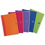 Quaderno spiralato My Colors 5mm con margine 150 x 210mm 90gr 90 fogli Oxford