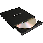 Masterizzatore DVD Hamlet XDVDSLIMK SLIM USB2.0 nero 13,5 x 13,7 x 1,7 cm