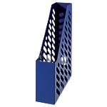 Portariviste HAN Forato blu trasparente A4 plastica 7,6 (l) x 24,8 (p) x 31,5 (h) cm
