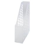 Portariviste HAN Forato trasparente A4 plastica 7,6 (l) x 24,8 (p) x 31,5 (h) cm