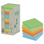 Notes riposizionabili Post it 76 x 76 mm Pastello 16 unità da 100 fogli