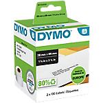 Etichette per indirizzi DYMO 28 x 89 mm bianco 2 rotoli da 130 etichette