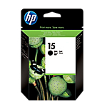 Cartuccia inchiostro HP originale 15 nero c6615de