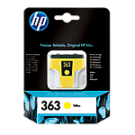 Cartuccia inchiostro HP originale 363 giallo c8773ee