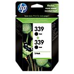 Cartuccia inchiostro HP originale 339 nero c9504ee 2 unità
