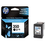 Cartuccia inchiostro HP originale 350 nero cb335ee