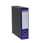 Registratore con custodia Viking registratore con custodia Commerciale 80 mm Carta, cartone 2 anelli A4 blu