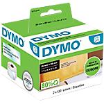 Etichette DYMO Per indirizzi 36 x 89 mm trasparente 260 etichette