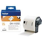 Etichette Brother DK11202 62 x 100 mm bianco 300 etichette