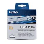 Etichette multiuso Brother DK 11204 17 x 54 mm bianco 1 unità da 400 etichette