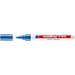 Marcatore a vernice edding 750 punta tonda blu