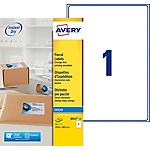 Etichette multifunzione AVERY Zweckform QuickDry Bianco 25 etichette 25 Fogli