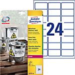 Etichette multifunzione AVERY Zweckform Heavy Duty Bianco 480 etichette 20 Fogli