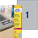 Etichette multifunzione AVERY Zweckform Heavy Duty Argento 20 etichette 20 Fogli