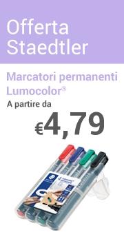 Marcatori permanenti Lumocolor Staedtler