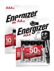 "A partire da €0,73 Pile alcaline ""Max"" Energizer"