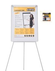 Solo €57,99 Lavagna portablocco con kit pulizia Bi-Office