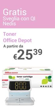Sveglia Nedis Gratis Toner Office Depot