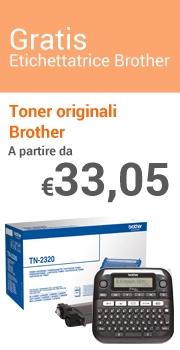 Etichettatrice Gratis Toner Brother
