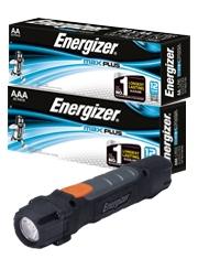 Torcia Energizer Gratis Pile Energizer Max Plus
