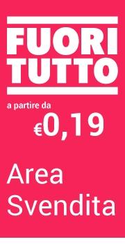 A partire da €0,19 Area Svendita