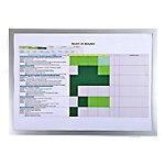 exacompta Magnetisch klembord 39300E Zilver Plastic (PVC) 47,5 x 0,4 x 34,5 cm 5 Stuks