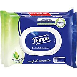 Tempo Feuchtes Toilettenpapier Aloe Vera 2 Stück à 42 Blatt 260721