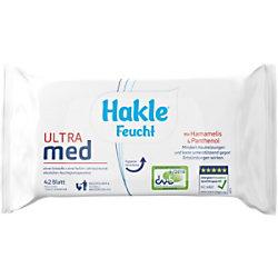 Hakle Feuchtes Toilettenpapier Ultra Med 1-lagig 42 Blatt 80092