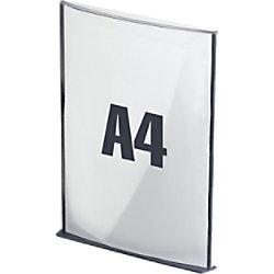 Paperflow Info-Display DIN A4 Kohle 12SA4.11