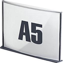 Paperflow Info-Display DIN A5 Kohle 19SA5.11