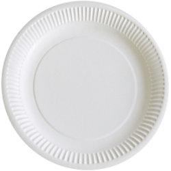 PAPSTAR Pappteller 23 cm Weiß 100 Stück 87239