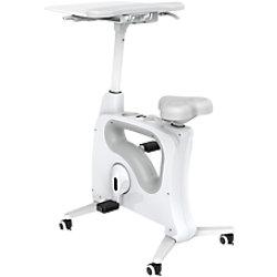 euroseats Schreibtisch Fahrrad Tournette Deluxe Weiß 13.FIE.004