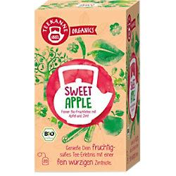 TEEKANNE Feiner Bio-Früchtetee, Apfel, Zimt Tee 20 Stück à 2.5 g 7407