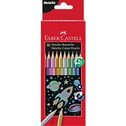 Faber-Castell Buntstifte Metallic 10 Stück 201583