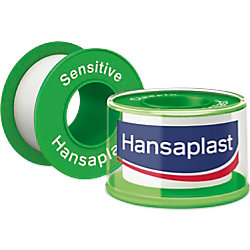 Hansaplast Pflaster Rolle Sensitive 2,5 cm 813672