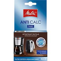 Melitta Entkalker für Kaffeemaschinen 105106 4 Stück à 12 g
