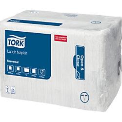 Tork Servietten 32,5 x 32,5 cm Weiß 8 Stück à 500 Blatt 509300