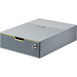 DURABLE Schubladenbox Varicolor 1 ABS Grau 28 x 35,6 x 9,5 cm 7601-27