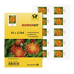 Deutsche Post Briefmarken Selbstklebend 2,70 € 10 Stück 152305001