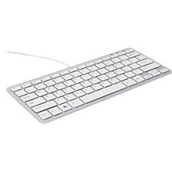 R-Go Tools Tastatur Verkabelt Kompakt-Tastatur Azerty AZERTY BE RGOECBEW