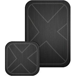 XLAYER Magfix Metallplatte 214767 2er-Pack Schwarz