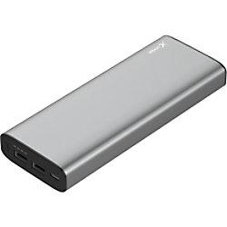 XLayer Powerbank Plus MacBook 20100mAh Space Grau 213265