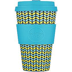 Ecoffee Cup Kaffeebecher Norweaven 400 ml Blau, Gelb 650117
